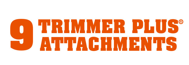 9 Trimmer Attachments