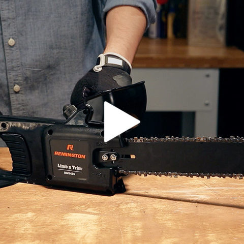Electric chainsaw safety videos and tutorials remington chainsaws adjusting chain tension for your chainsaw keyboard keysfo Choice Image