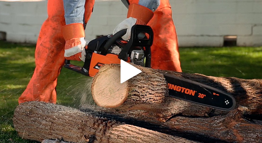 The Gas Chainsaw: Tool of the Lumberjack, and You
